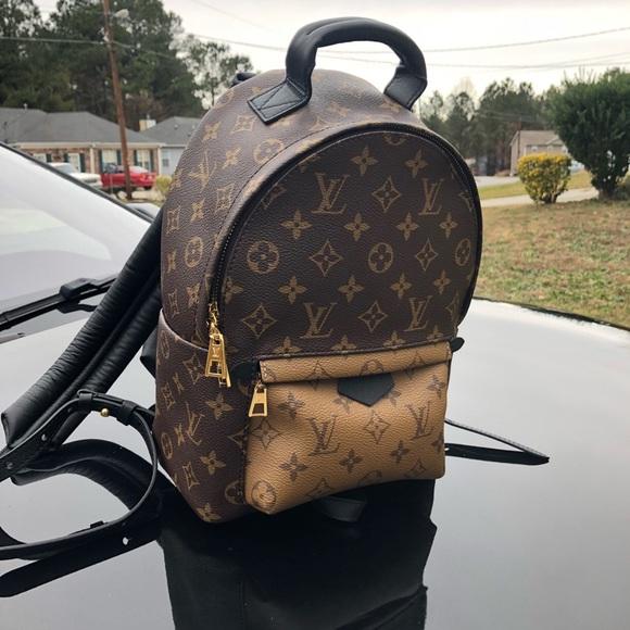 497406b2d7 Louis Vuitton Palm Spring Mini backpack PM NWT
